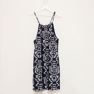 Crown & Ivy Eyelet Halter Dress XL